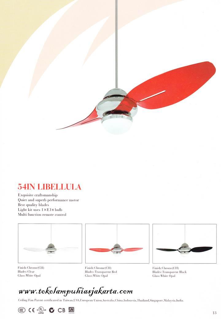 Kipas Angin Mediterania 54-IN Libellula