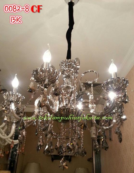 Lampu Cristal CF 0082-8 BK