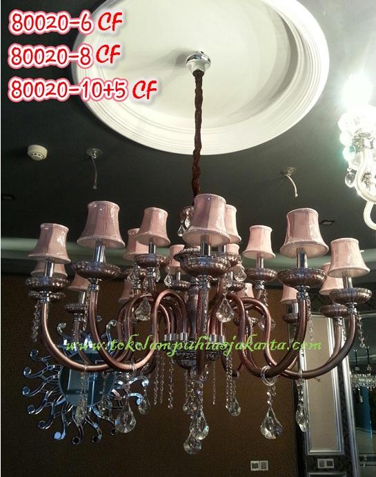 Lampu Cristal CF 80020-6