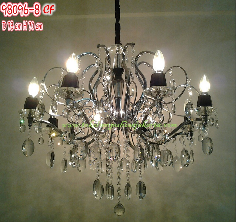 Lampu Cristal Cf 98096 8