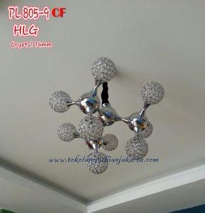 Lampu Cristal PL CF 805-9