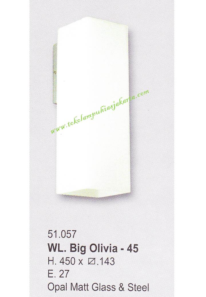 Lampu Dinding Minimalis WL-BIG Olivia 45