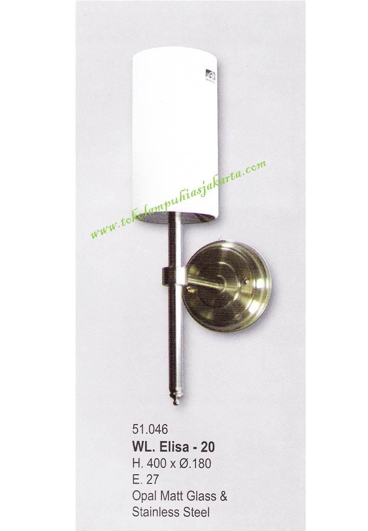 Lampu Dinding Minimalis WL Elisa 20
