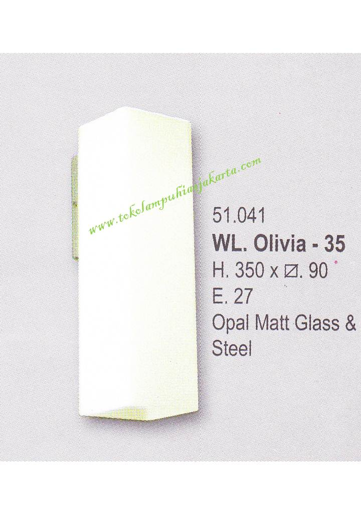 Lampu Dinding Minimalis WL Olivia 35