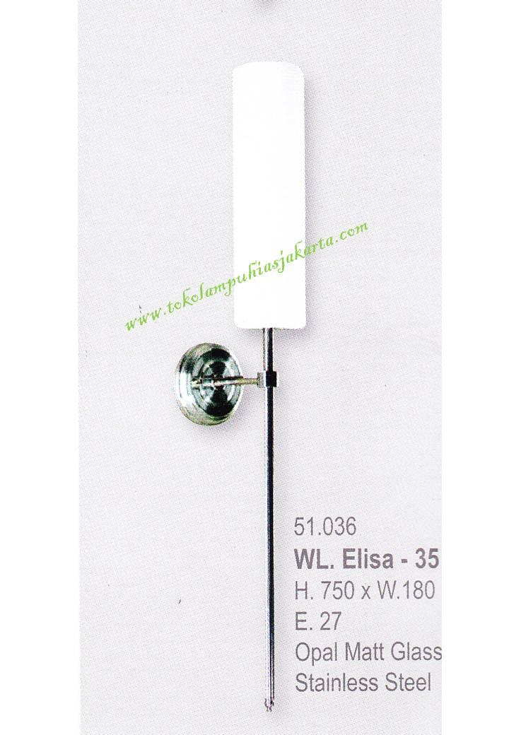 Lampu Dinding Minimalis WL elisa 35