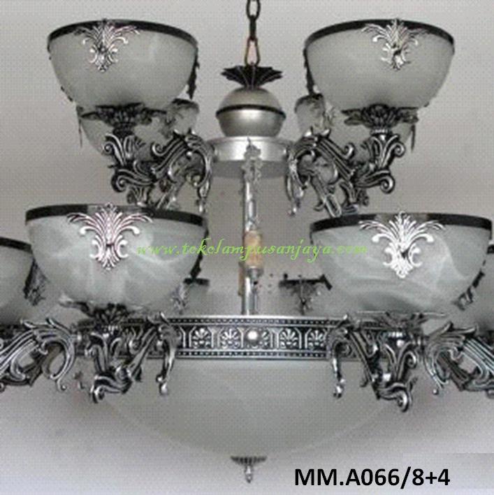 Lampu Gantung Kaca MM.A066-8+4