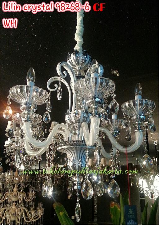 Lampu Lilin Cristal CF 98268-6