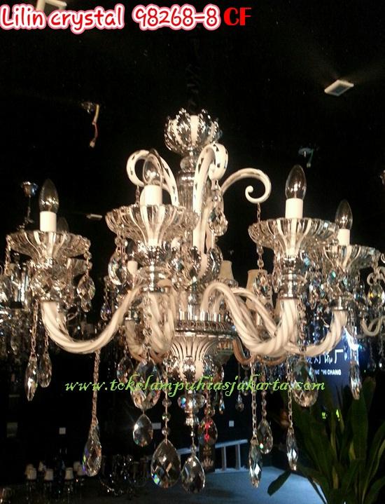 Lampu Lilin Cristal CF 98268-8