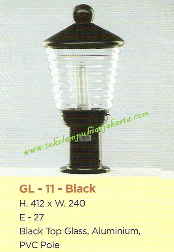 Lampu Taman GL-11-Black