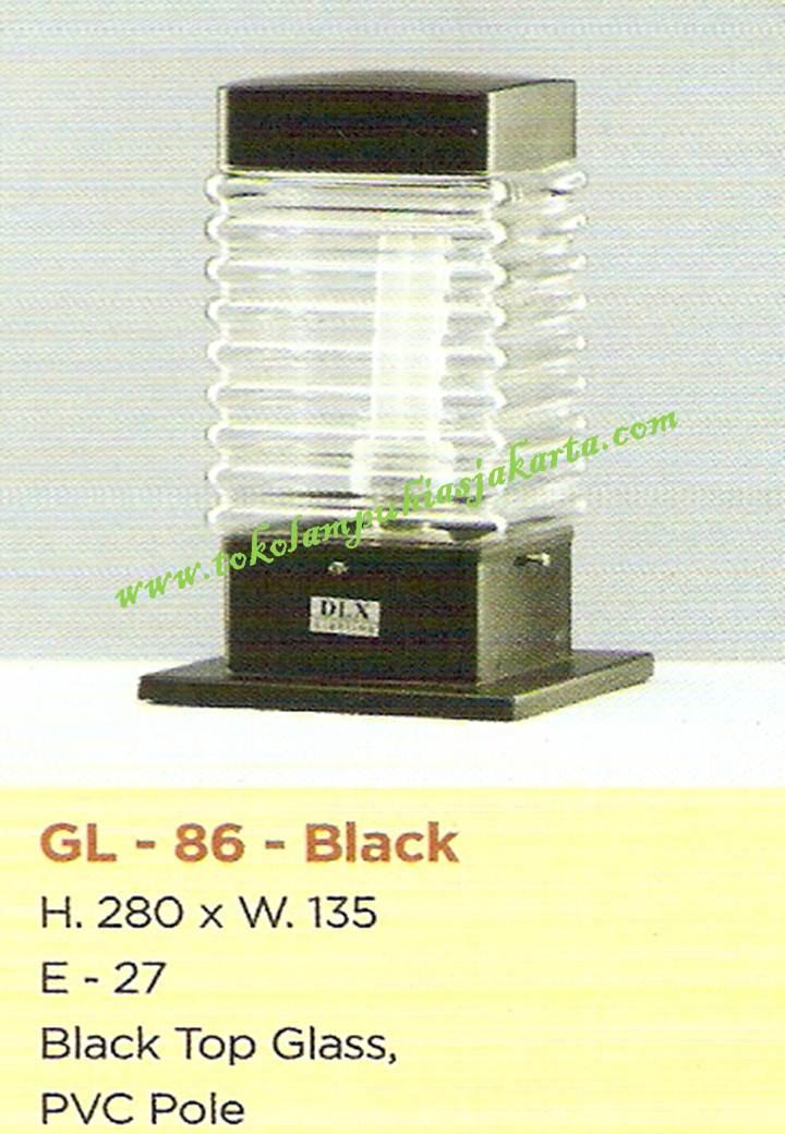 Lampu Taman GL-86-Black