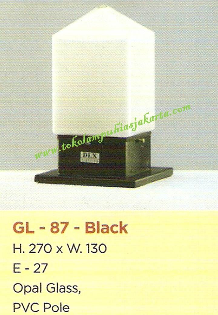 Lampu Taman GL-87-Black