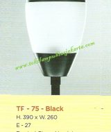 Lampu Taman TF-75-Black