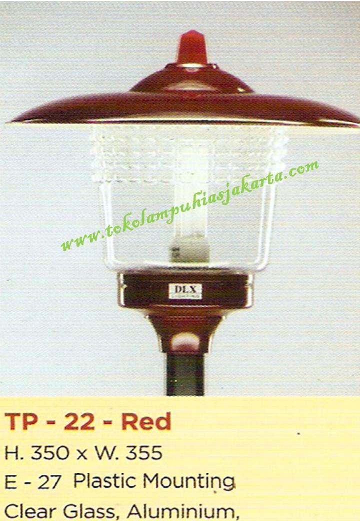 Lampu Taman TP-22-Red