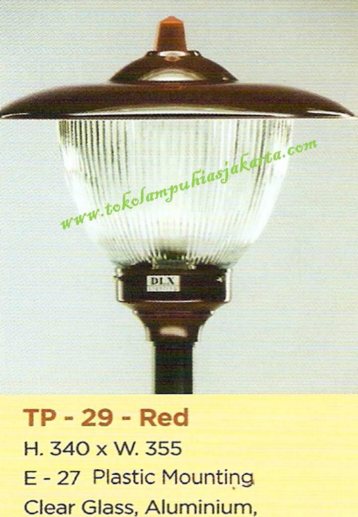 Lampu Taman TP-29-Red