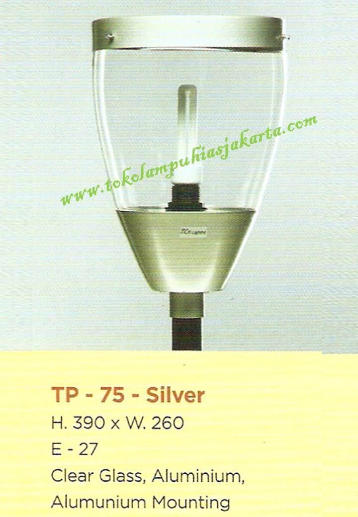 Lampu Taman TP-75-Silver