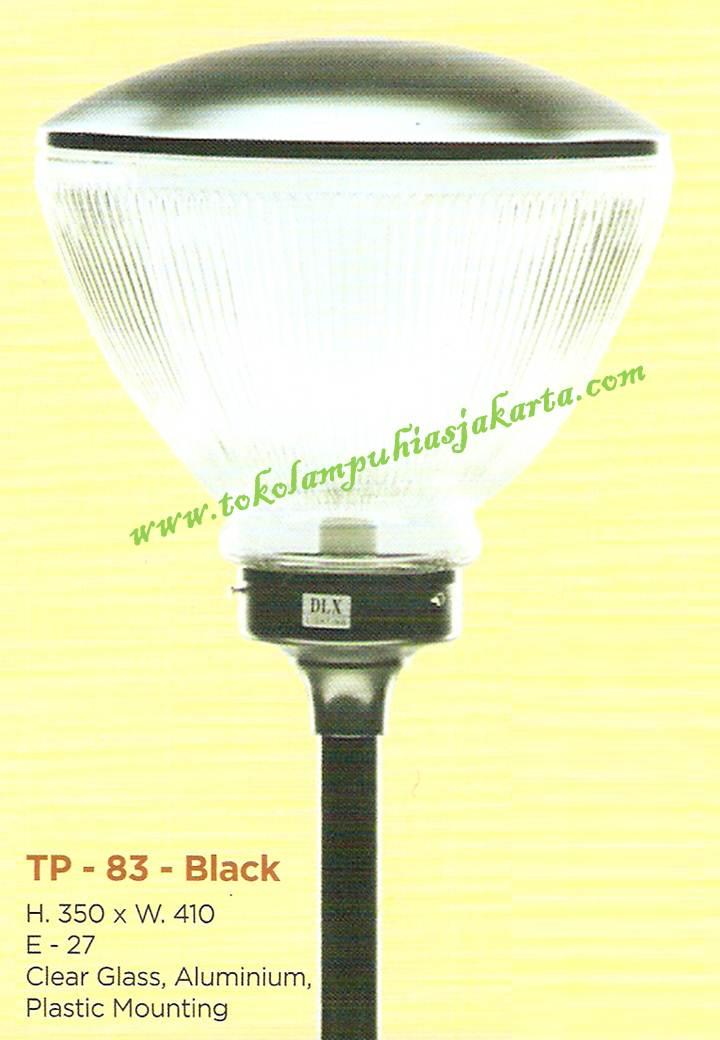 Lampu Taman TP-83-Black