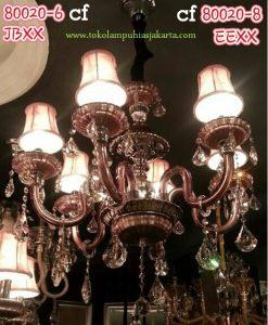 Lampu Krystal CF 80020-6