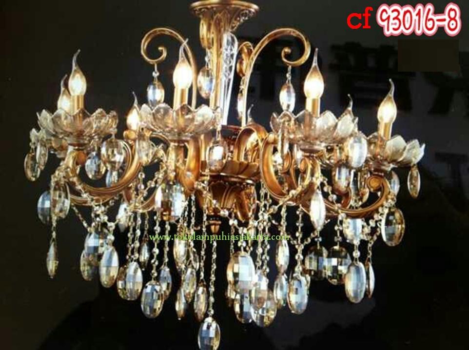 Lampu Gantung Kristal Crystal Mewah Elegan Banyak Pilihan