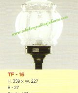 Lampu Taman TF-16 Frosted Glass