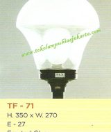 Lampu Taman TF-71 Frosted Glass