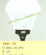 Lampu Taman TFP-71 Semi Frosted Glass