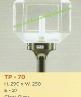 Lampu Taman TP-70 Clear Glass