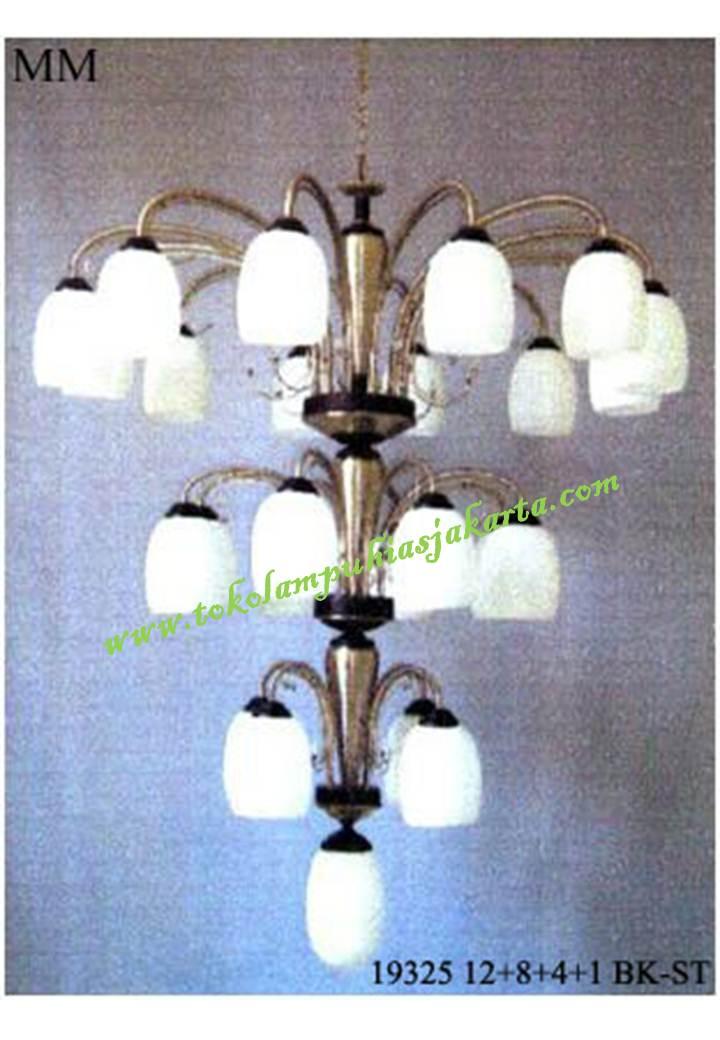 Lampu Gantung Kaca Tiga Susun BK-ST 19325