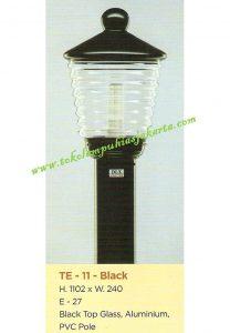 Lampu Buat Taman TE-11 Black