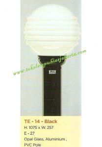 Lampu Buat Taman TE-14 Black