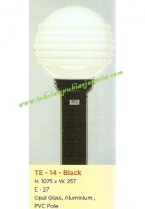 Lampu Buat Taman TE-141 Black