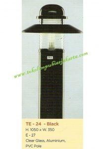 Lampu Buat Taman TE-24 Black
