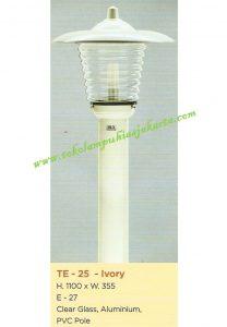 Lampu Buat Taman TE-25 Ivory
