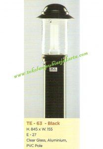 Lampu Buat Taman TE-63 Black