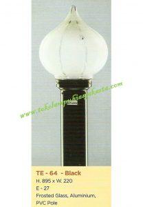 Lampu Buat Taman TE-64 Black