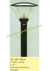 Lampu Buat Taman TE-68 Black