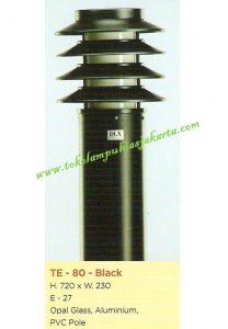 Lampu Buat Taman TE-80 Black