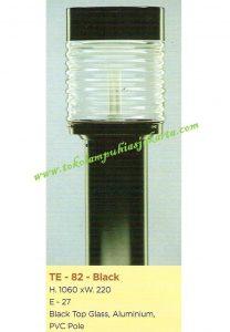 Lampu Buat Taman TE-82 Black