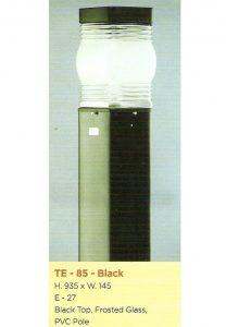 Lampu Buat Taman TE-85 Black