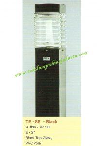 Lampu Buat Taman TE-86 Black