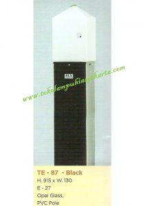 Lampu Buat Taman TE-87 Black
