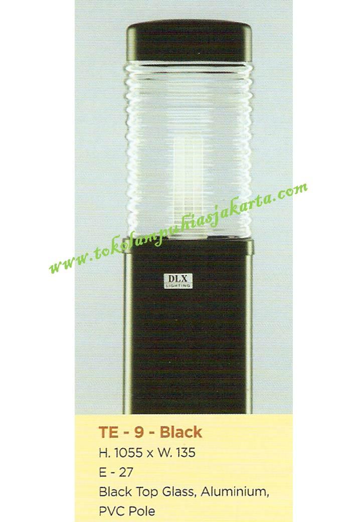 Lampu Buat Taman TE-9 Black