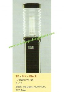 Lampu Buat Taman TE-9-K Black