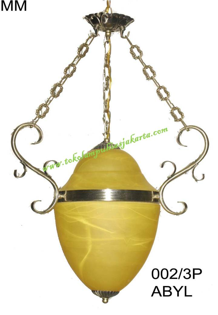 Lampu Antik Engkel 002-3P ABYL
