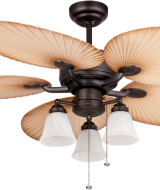 LAMPU KIPAS MT EDMA MEDITERRANIA 52in CEILING FAN