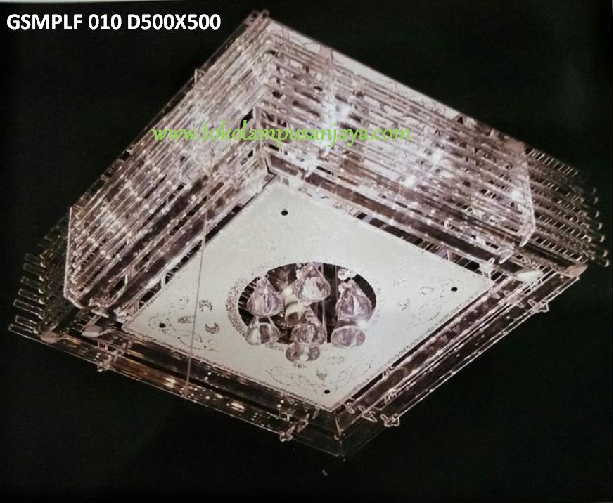 Jual lampu plafon GSM PLF 010 D500 X 500 LED E27